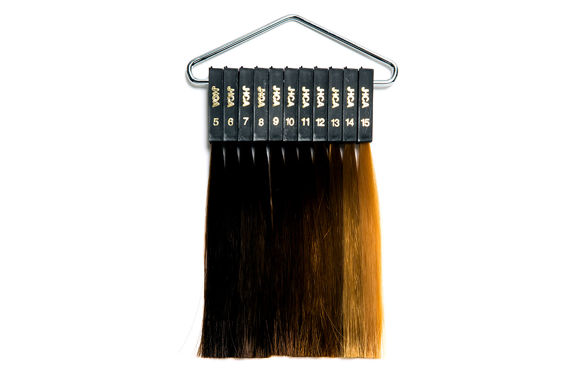 JHCA髮色等級標準