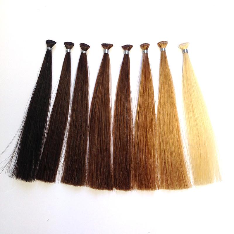 測試用髮束販售商品一覽表