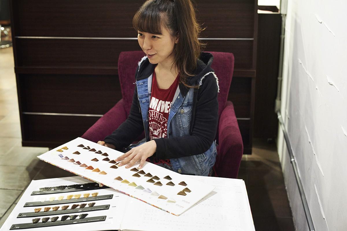 美髮界專業人士專訪4 natal hair design染髮師 安藤 弘子小姐
