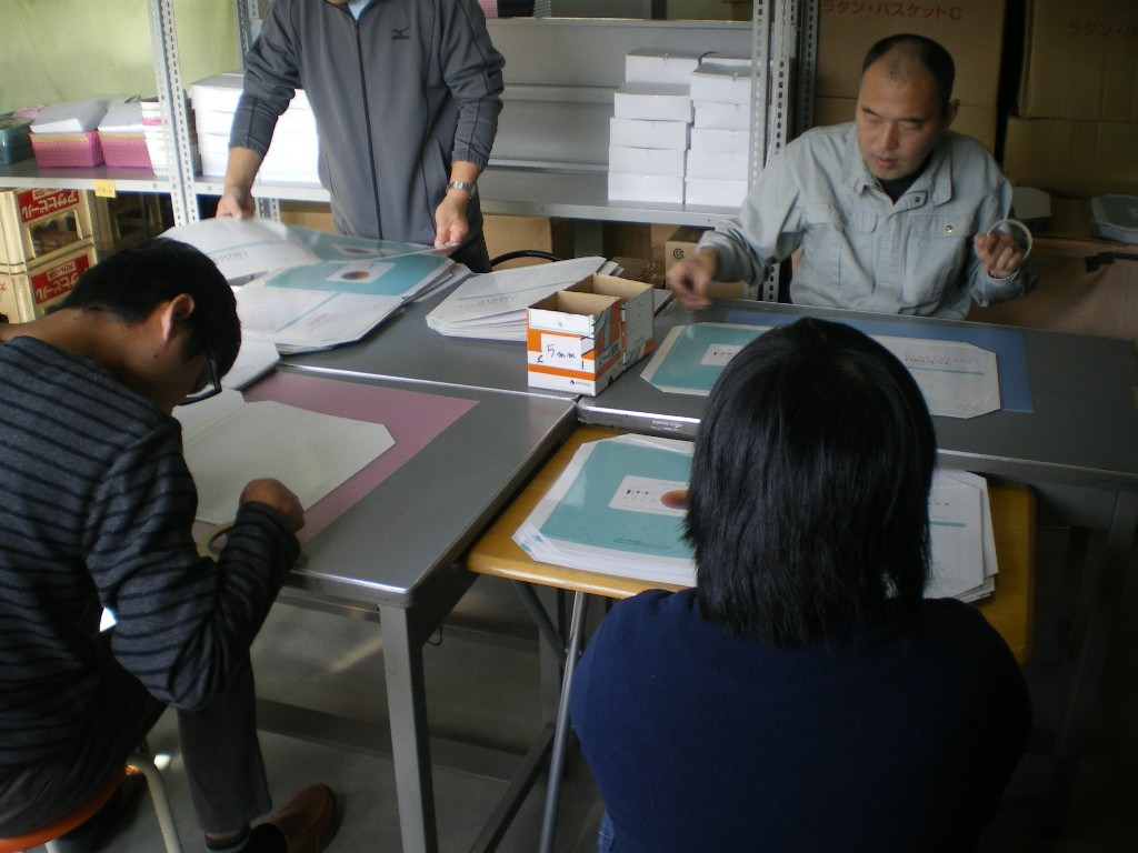 Image of creating our company's color chart