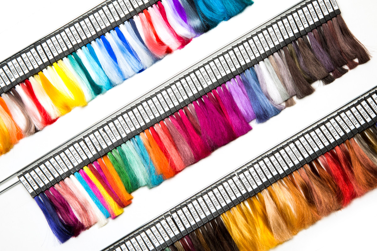 Process Of Manufacturing High Quality Color Chart 1 Trial Dyeing