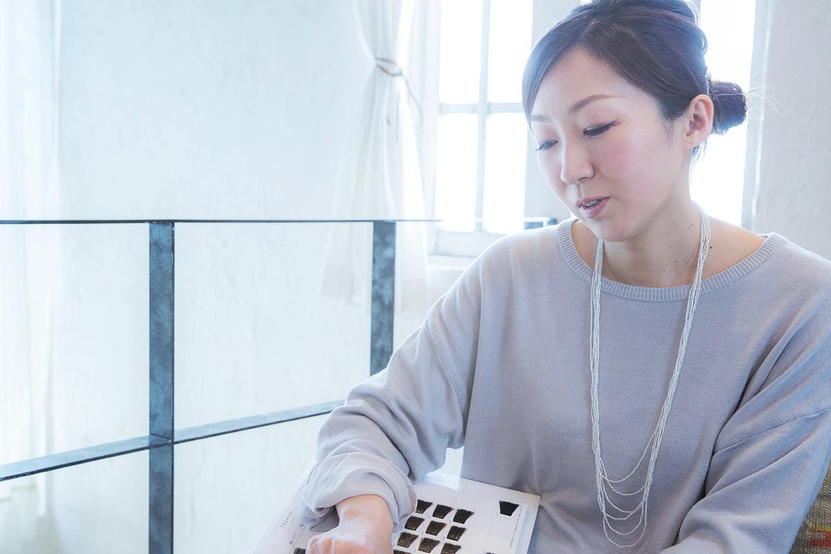 業界人インタビュー2 Belle 表参道 カラーリスト 堀 加奈子さん