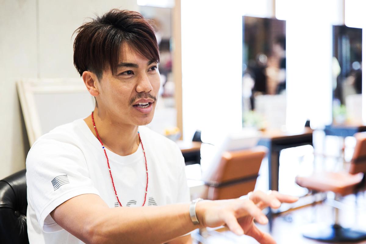 業界人インタビュー3 AFLOAT RUVUA ヘアクリエイター星☆晃介さん